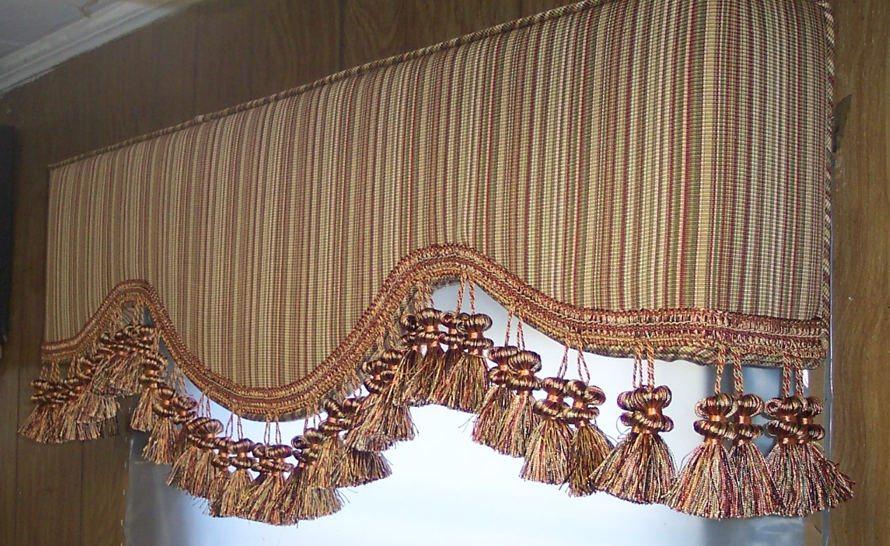 Gilbert AZ upholstered cornice boards