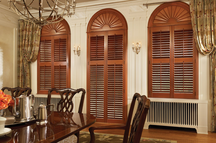Gilbert Interior Wood Shutters Window Treatments