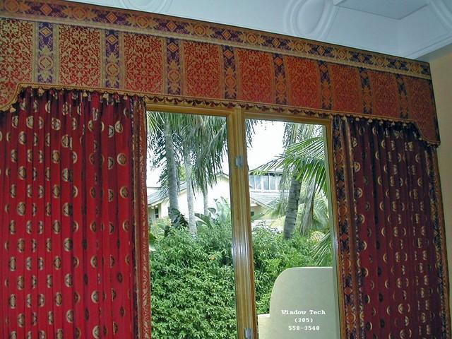 Gilbert upholstered cornice boards